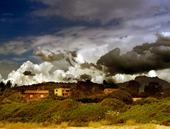 Corsica (createsimona) Tags: sky france green beach moody cloudy corsica absolutely stunning scapes