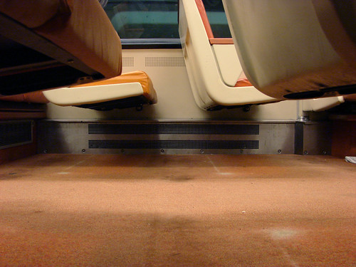 The DC Metro carpets: So gross even a caveman wouldn't sleep there.