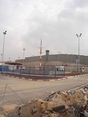 The Wall with checkpoint (GoodbyeKitty) Tags: israel westbank palästina palestinianterritories