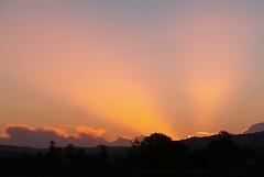Shire Sunset (Catching Magic) Tags: light sunset newzealand nature olympus lotr e300 tiraudan tolkien hobbiton matamata unenhanced