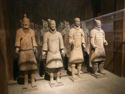 兵马俑 / terracotta warriors and horses