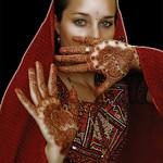Henna on myself for 2005 Diwali