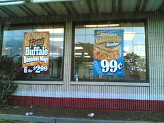KFC Windows, Wednesday 5:42 pm 10/18/06 Cambridge, Massachusetts
