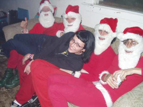 jackie and the santas