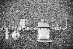 What I Should Keep and What I Should Throw Away (Thomas Hawk) Tags: california blackandwhite bw usa america berkeley blackwhite unitedstates unitedstatesofamerica pipes gas eastbay meter watermeter