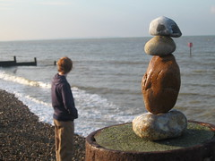 Rock Balance Whitstable (:mrMark:) Tags: beach rock stone seaside balance whitstable tankerton