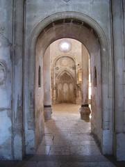 Inside Ishak Pasa palace