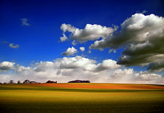 Delineated (Nicholas_T) Tags: autumn sky cloud nature field clouds rural landscape pennsylvania hills creativecommons lehighvalley stratocumulus lehighcounty weisenbergtownship