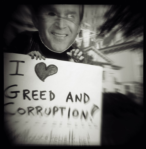 I (heart) Greed and Corruption