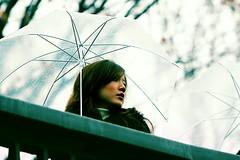 With Umbrella (JOSEF.) Tags: light rain japan umbrella canon zoo tokyo tone wemon q8ty
