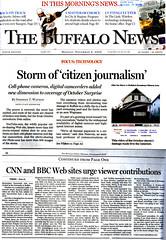 Quoted in Buffalo News about the local citizen...