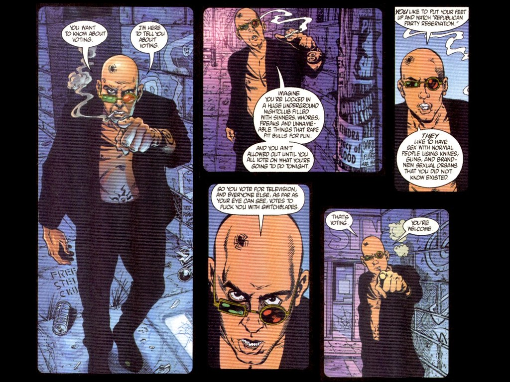 spider jerusalem on voting