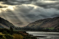 Ray of Light (bgladman) Tags: travel beautiful landscape photography photo highlands nikon stock scenic escocia adventure explore remote wilderness nikkor picturesque hdr highdynamicrange rugged schottland scozia cosse tonemapped interestingness143 cotland i500   abigfave  brendangladman