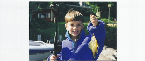 Jacob with fish