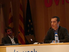 Thomas Burg i Hugo Pardo e-week 2006. (eweek_vic) Tags: beersandblogs thomasburg digitalismo hugopardo eweek06