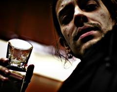 Mezzocielo is drinking Vodka (fabbriciuse) Tags: rome roma drink cristina drinking marco amici bere tiburtina mezzocielo