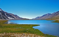 Karomber Lake, Pakistan (Kaafoor) Tags: trip travel blue pakistan red summer lake water beautiful beauty north visit best valley pakistani adeel distortions iloveit broghil northernarea karambar ishkoman theworldsbest greaan pakistaniphotographer karombar karomber p1f1 swinje karachite karombverlake bsbtravel ilovetraveling ihavebeentothisplace height4272m approxlength39km width2km averagedepth52m latituden36deg530326 longitudee73deg424403 korambar karambarlake