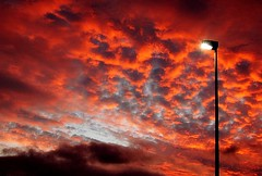 All the lights are on (aremac) Tags: red lamp look night clouds d50 germany deutschland nikon sundown nikond50 mannheim outstandingshots activeassignmentweekly specsky