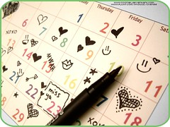 (Cherie) Tags: love calendar days week cherie