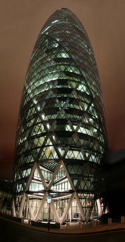30 St Mary Axe or the Gherkin - London by Patrick Mayon