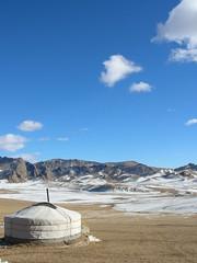 Ulaanbataar - Ger camping (SaraJuliet) Tags: mountains landscape mongolia gers ulaanbataar explored sooc gercamping