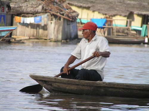 Sul rio Itaya, puerto de Belen, Iquitos