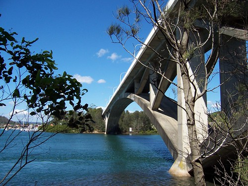 The Rip Bridge from Daley Avenue Daleys Point