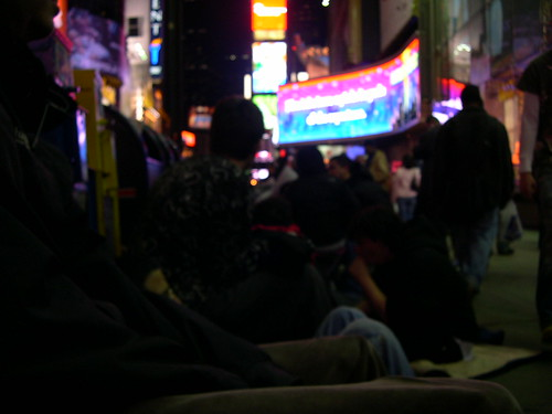 Nintendo Wii Line @ Times Sq. -NY NY by Justin T. Shockley jtshockley.com