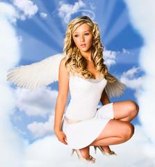 Hollie - model fashion studio angel tfcd wings enigma tfp hollie