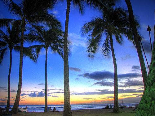Waikiki Beach 2 (HDR)