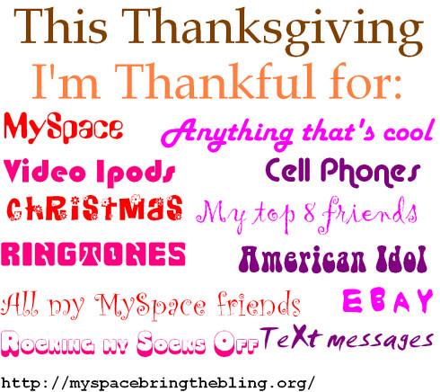 Thanksgiving fake greeting #2