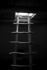 Ascend (C2photo) Tags: light blackandwhite climb mesaverde ladder ascend c2photocom