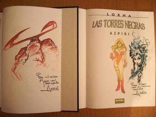 Comics Firmados por Azpiri