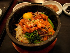 | Dolsot Bibimbap (Kalle Anka) Tags: travel food asian cuisine asia asien capital korea east korean asie southkorea bibimbap rok daehanminguk   dolsot eastasia  corea   republicofkorea   hanguk dolsotbibimbap         koreanpeninsula hotstonebowl earthasia