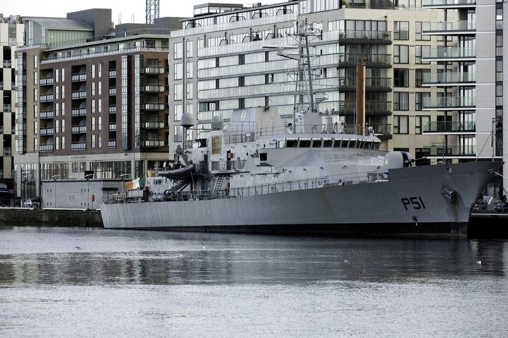 Irish Navy In Port