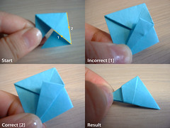 Electra Method (chicgeekuk) Tags: laura origami correct patty electra method kishimoto incorrect laurakishimoto laurakishimotoca