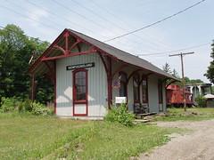 Newfoundland, NJ Depot (caboose_rodeo) Tags: railroad favorite newfoundland newjersey trains caboose bikini trainstation railroadstation thestationagent mymostviewedphotos 2717views