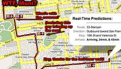 WTF, Muni? (mattymatt) Tags: sanfrancisco cold bus trolley muni lazy transit wait late caravan wtf busses bunching incompetant