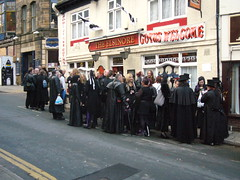 Image result for goths at the elsinore whitby