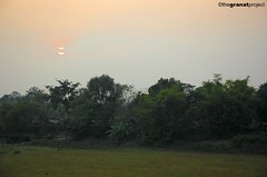 sunset in siliguri (the granat project) Tags: sunset india twilight siliguri backyardshot
