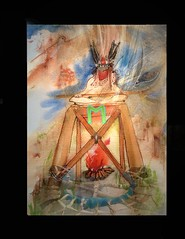rune eh (hialoakapua) Tags: travel horse santafe color art water painting spiral paint image drum joy journal vision journey soul passion unknown myart medicine healing information shaman ecstacy courage wellness shamanism healer 2dart hialoakapua rosslewallen wwwrosslewallencom