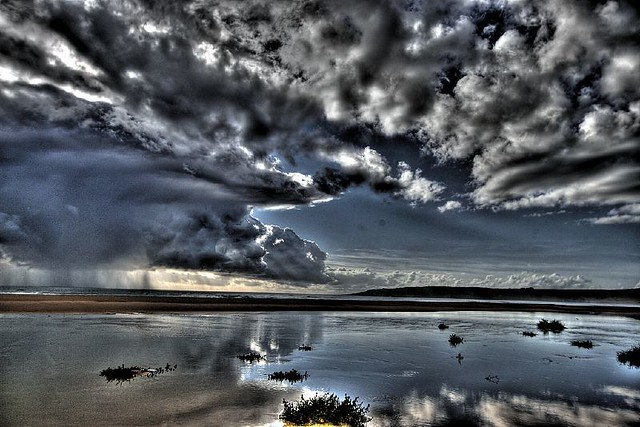 Playa de Bolonia Tarifa high dynamic range HDR Photography inspiration and tutorial in Photoshop