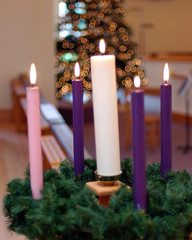 Advent Candles 22 (starfish235) Tags: christmas church advent religion