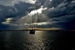 DSC_0007 (2) (RUMTIME) Tags: coochiemudlo coochie queensland light clouds sailboat silhouette