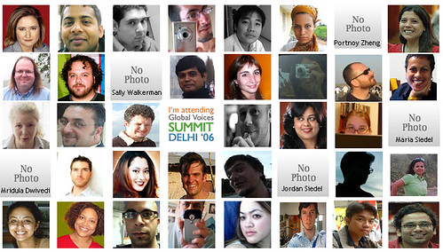 global voices online conference attendee photos in India