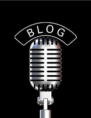 Blog Microphone by Travelin