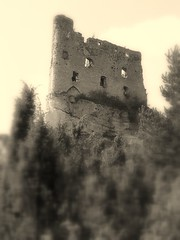 Castles & Dreams (Ewciak & Leto) Tags: black wall sepia clouds dark ruins heaven hill gothic dream fantasy knight legend middleages tress myth mystic decayed darkages olympusc765ultrazoom v401500 v101200 v76100 v501600 v601700 v701800 v201300 castlesdreams v301400 v801900 v9011000
