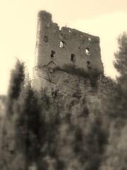 Castles & Dreams (Ewciak & Leto) Tags: black wall sepia clouds dark ruins heaven hill gothic dream fantasy knight legend middleages tress myth mystic decayed darkages olympusc765ultrazoom v401500 v101200 v76100 v501600 v601700 v701800 v201300 castlesdreams v301400 v801900 v9011000