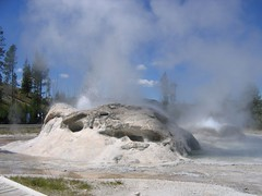 Steaming inferno (Traveling Penguin) Tags: wyoming yellowstonepark