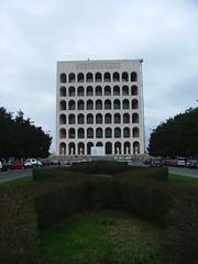 Palazzo della Civilta del Lavaro (Faoln) Tags: roma architecture eur facism monoliths mussolini whiteelephants faoln